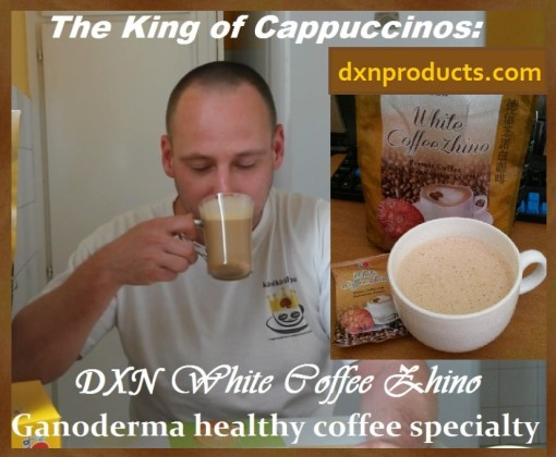 Ganoderma cappuccino for reflux.