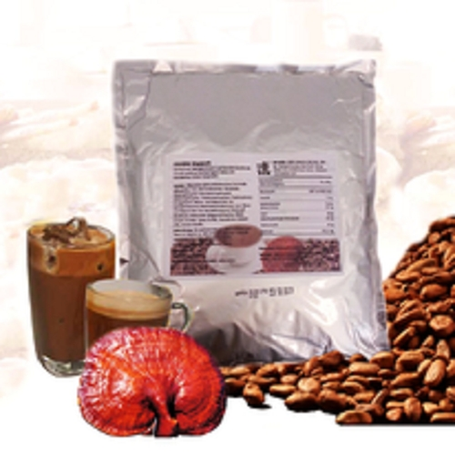 Ganoderma cocoa for the lovers of healthy alkaline sweets