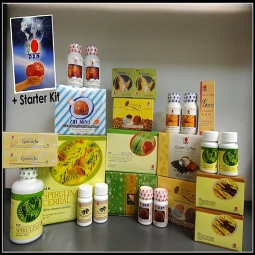 "DXN Dynamic Start Program ''A1"" kit is worth 150% of its price"
