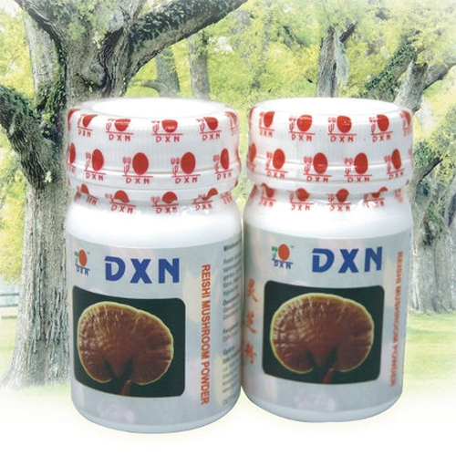 DXN Reishi Mushroom powder detoxes and rejuvenates cells
