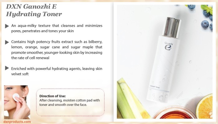 Ganoderma cleansing milk protects, moisturizes, refreshes and restores the PH balance of the skin.