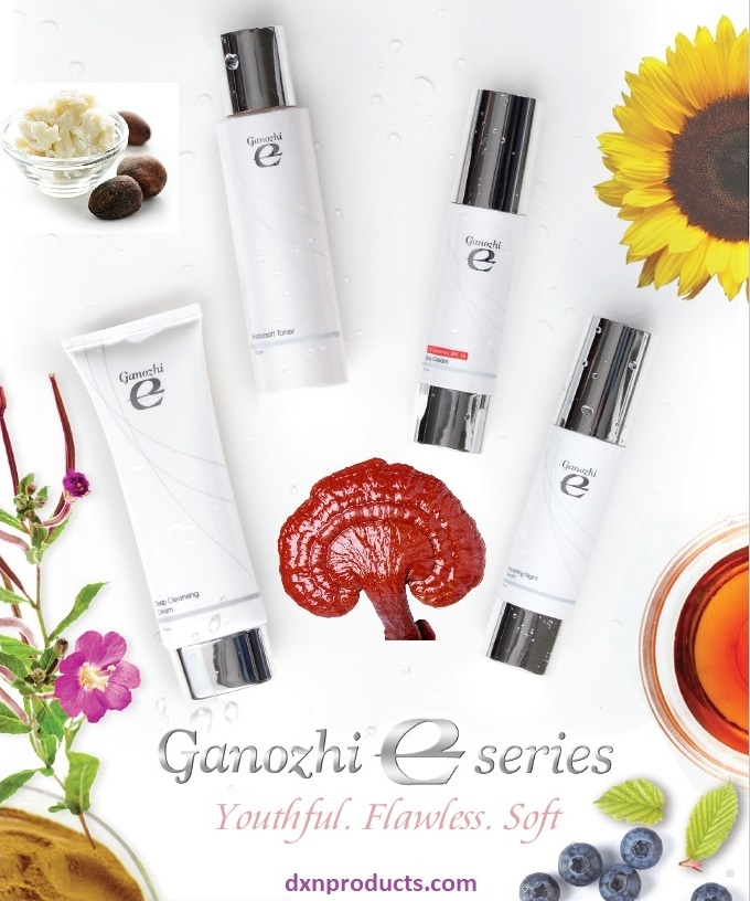 Ganoderma skin care product-line: DXN Ganozhi E Series