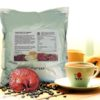 Three-in-one Ganoderma coffee with cane sugar and non-dairy creamer