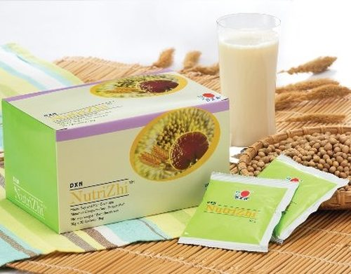 DXN Nutrizhi is a nutritive alkalizing Ganoderma soy fitness drink.