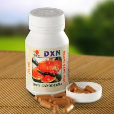 Red Reishi capsules from DXN for effective alkalizing and detoxification