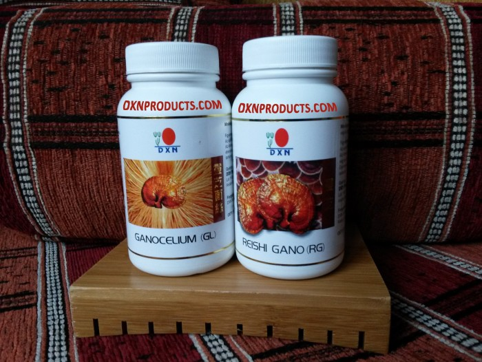 DXN Reishi Gano (RG) and DXN Ganocelium (GL) capsules improved my level of stress tolerance