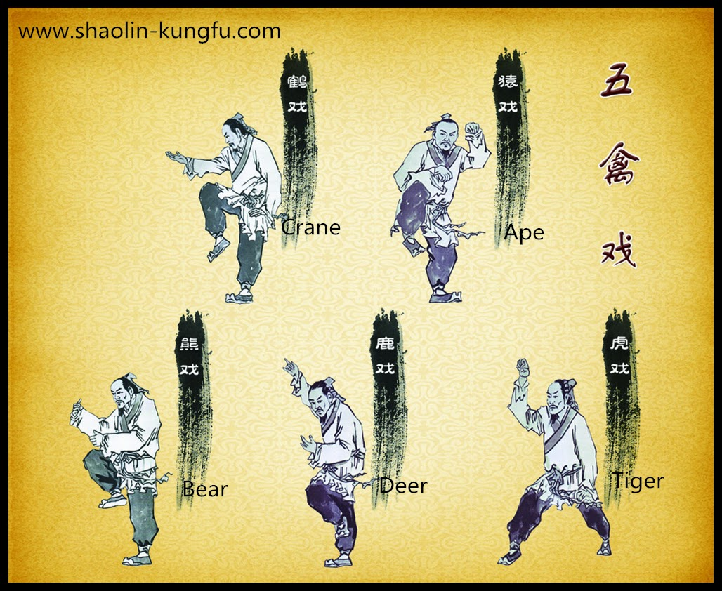 Animals have key importance in kung-fu.