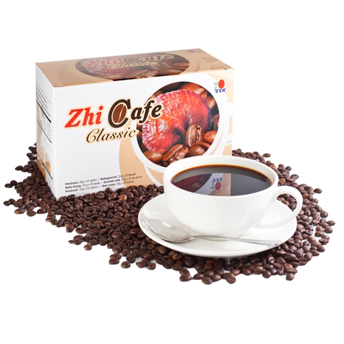 Turkish coffee with Ganoderma: grilled roasted Arabica coffee
