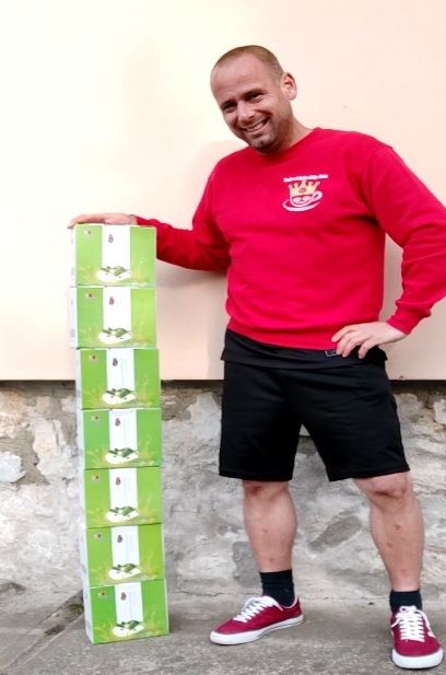 Seven boxes of DXN Apple Enzyme Drink