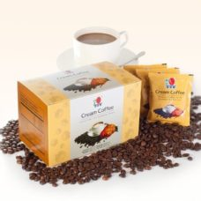 Ganoderma milk-coffee with no sugar: DXN Cream Coffee, for those with blood pressure problems too.