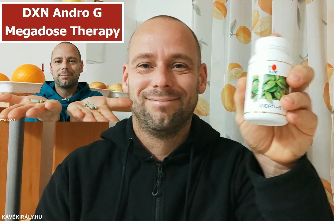 Happy about the effect of DXN Andro G Megadose Therapy