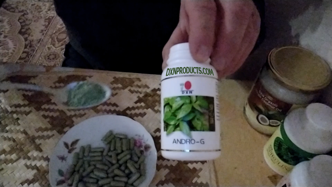 Contents of DXN Andrographis paniculata herbal capsule