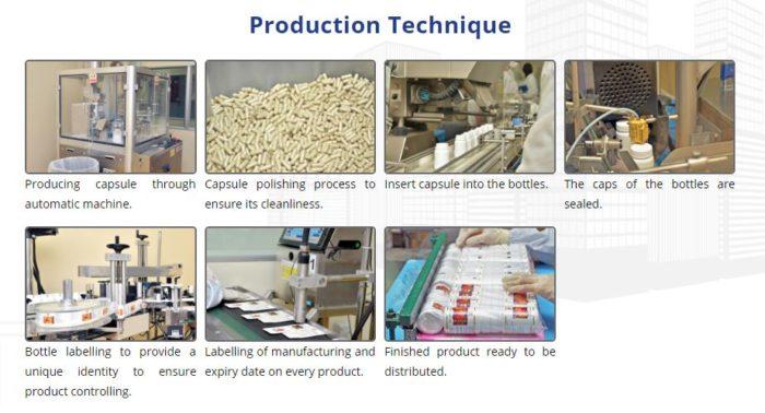 Behind the scenes of DXN Ganoderma capsule production