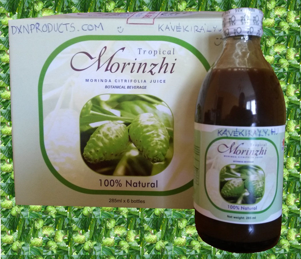 DXN Morinzhi Noni Juice, secret of long life from Polynesia.