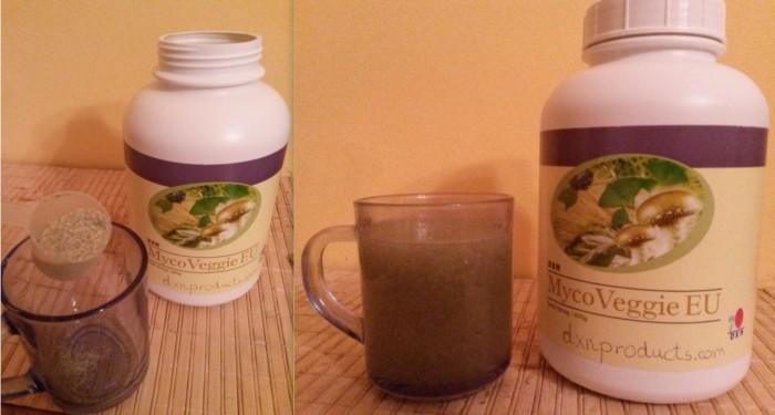 High-fiber colon cleanser herbal mixture