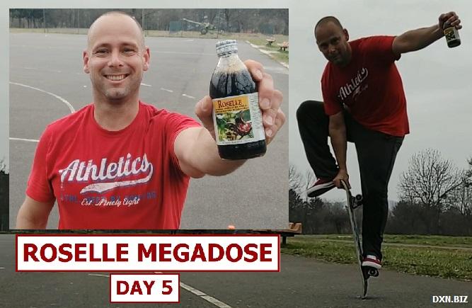 Skateboarding over 40 and DXN Roselle Juice Megadose