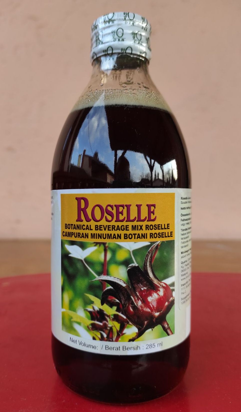 DXN Roselle Juice is sweet, delicious healthy immune system-boosting drink
