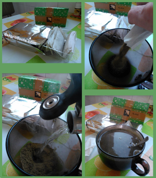 How to prepare DXN Spica Tea at home?