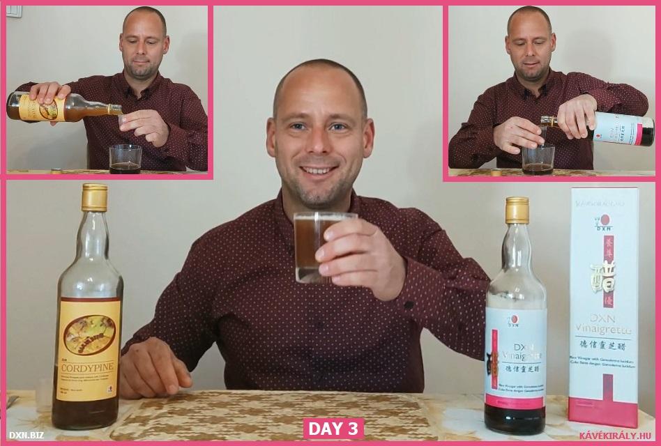 A blend of DXN Cordypine and DXN Vinaigrette