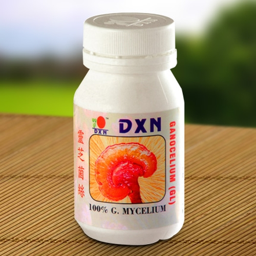 DXN Ganoderma Mycelium capsules alkalize and rejuvenate the human body