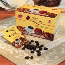 Black coffee with Ganoderma: DXN alkaline healthy coffee