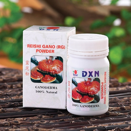 Red Reishi extract from DXN: the king of detoxifiers, the alkaline wonder-herb.