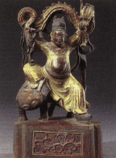 Sun Simiao, the god of healing. Statue of the era of Tang Dynasty