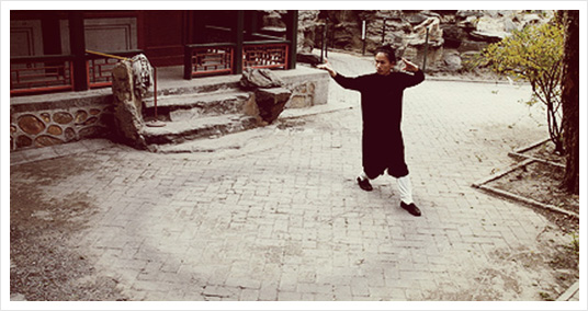 One of the keys to well-being is walking swiftly like a pigeon, according to Grandmaster Li Ching Yuen.