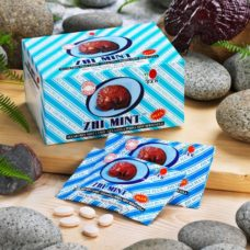 Sugarfree Ganoderma mint candy for oral health & good breath with balanced PH value of the mouth.